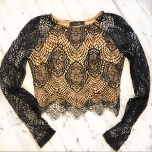 ANGL Lace Crop Top